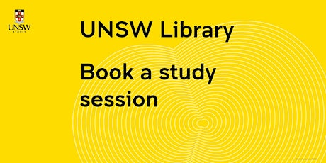 UNSW Library - Book a Study Session tickets
