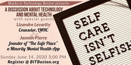 A discussion about Technology and Mental Health tickets