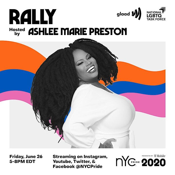 2020 NYC Pride Rally image