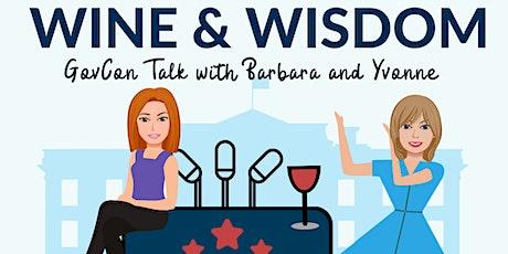 Wine & Wisdom: GovCon Talk with Barbara & Yvonne tickets