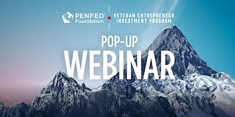 PenFed Foundation Veteran Entrepreneur Investment Program - VEIP 101 tickets