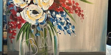 July Flowers Monday Night Paint Party tickets