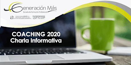 COACHING 2020  (inicio en agosto)- Charla Informativa entradas