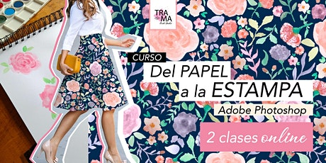 Del Papel a la ESTAMPA en Adobe Photoshop ONLINE entradas