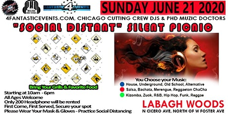 Social Distant Silent Picnic tickets