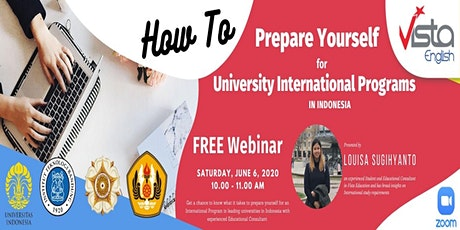 How to Prepare Yourself for University: International Programs in Indonesia tickets