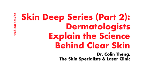 [FREE WEBINAR] Consult a Dermatologist for Clear & Glowy Skin tickets