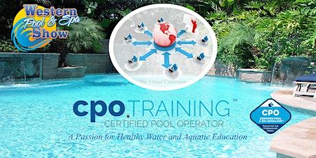 Live Virtual CPO Certification Class tickets