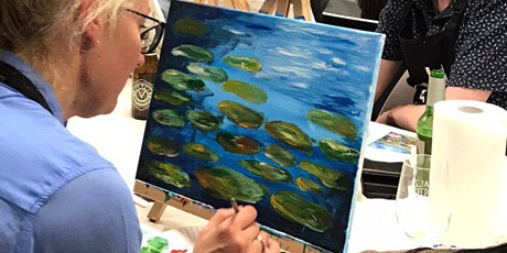 Paint and Sip Class: Lotus lake tickets
