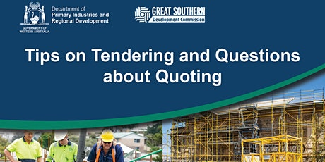 Tips on Tendering and Questions about Quoting tickets