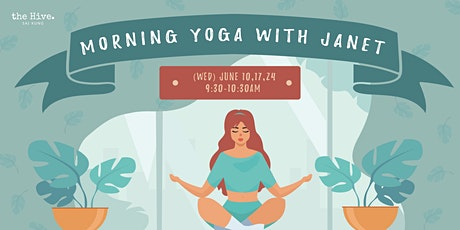 Morning Yoga with Janet  tickets