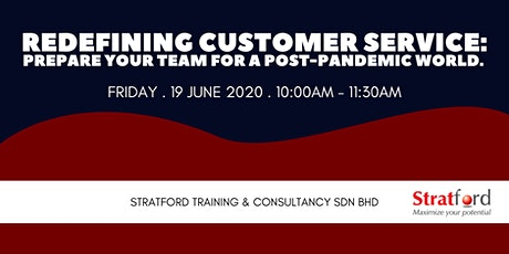 Redefining Customer Service: Prepare Your Team For A Post-Pandemic World tickets