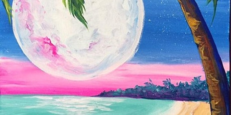 Paint and Sip Class: Pink Moon tickets