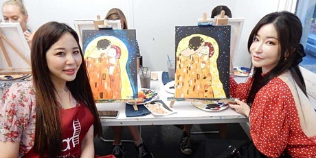 Paint and Sip Class: The Kiss of Klimt tickets
