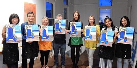 Paint and Sip Class: The Greek House tickets