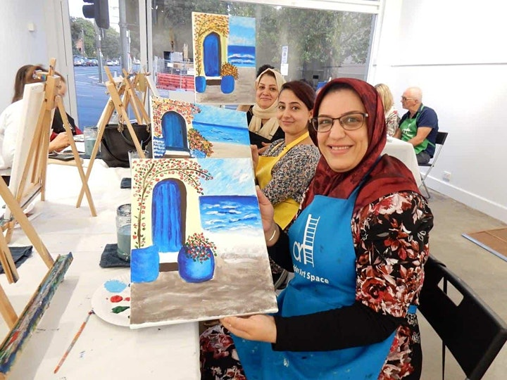 Paint and Sip Class: The Greek House image