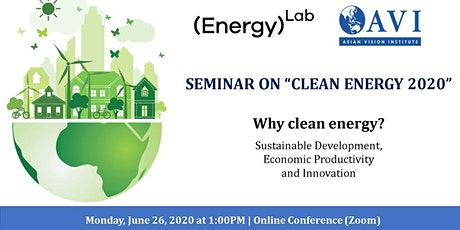 Clean Energy 2020 - Why Clean Energy? tickets