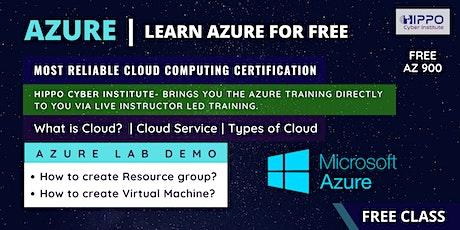 Microsoft AZURE - Free Online LIVE Class entradas