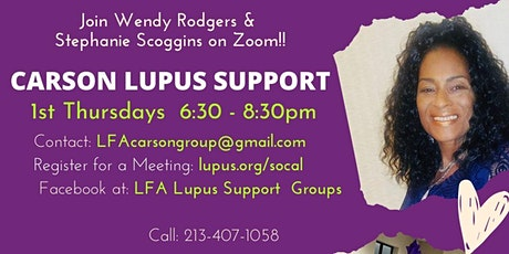 Carson Lupus Support Meeting tickets