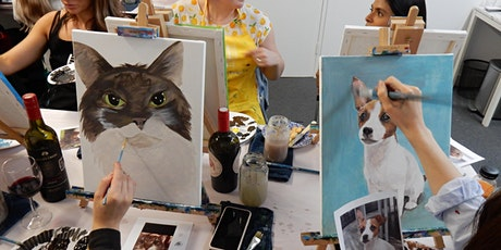 'Paint Your Pet' - Paint and Sip Class tickets