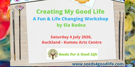Charity Event - Creating My Good Life - Painting & Life Skills Workshop tickets