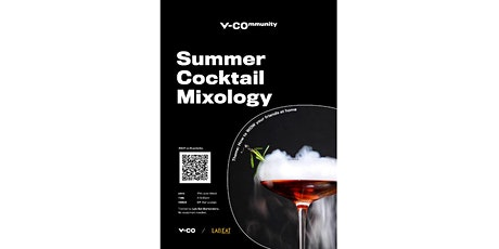 V-Community | Summer Cocktail Mixology Class tickets