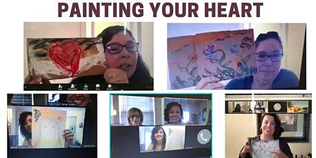 Cancer Kinship Survivor Empowerment: Painting Your Heart Virtual Workshop tickets