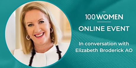 In conversation with Elizabeth Broderick AO tickets