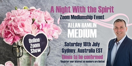 Allan Hamlin Zoom Psychic Show tickets