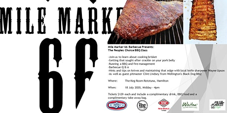 Mile Marker 66 Presents: The People's Choice BBQ Class tickets