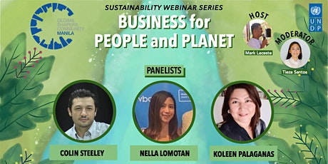 Sustainability Webinar Series: Business for People and Planet tickets