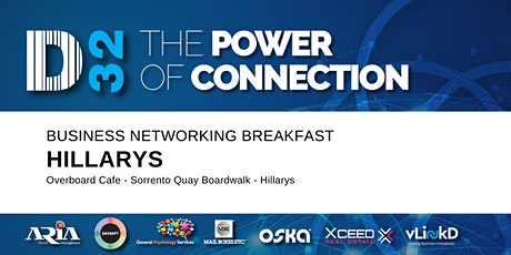 District32 Business Networking Breakfast – Hillarys - Tue 09th June tickets