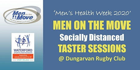 Men on the Move - Socially Distanced Taster - Dungarvan - 16th June 2020 tickets