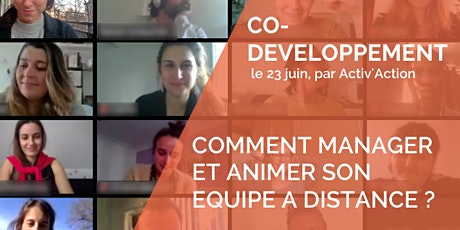 Atelier | Comment manager, animer son équipe à distance tickets