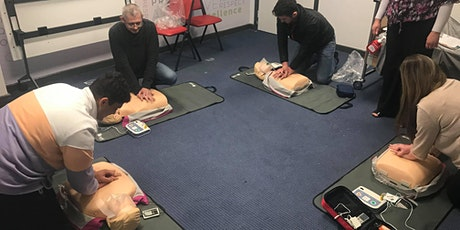 Basic Life Support and Use of AED tickets