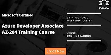 Microsoft Certified Azure Developer Associate AZ-204 Training Course entradas