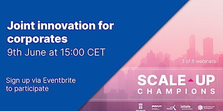 Joint innovation for corporates and startups - How to? tickets