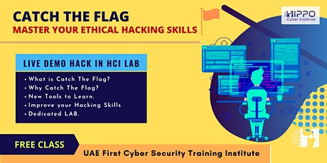 Catch The Flag - LIVE HACK in HCI Lab tickets