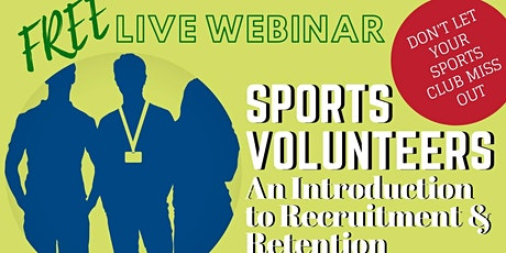 Live Webcast on the recruitment and retention of volunteers tickets