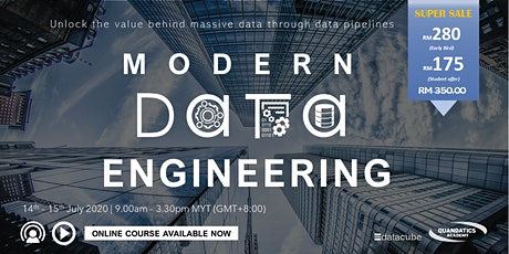 Modern Data Engineering tickets