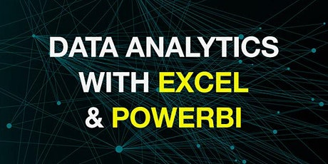 Data Analytics with Excel and PowerBI online info session tickets