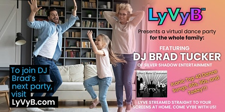 Virtual Lyve Party and Entertainment - Lyve From Home, Vybe Together! tickets