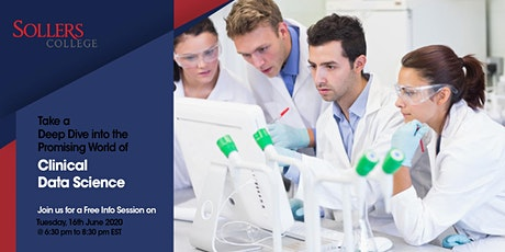 Attend Free Info Session On Clinical Data Science Training Program tickets