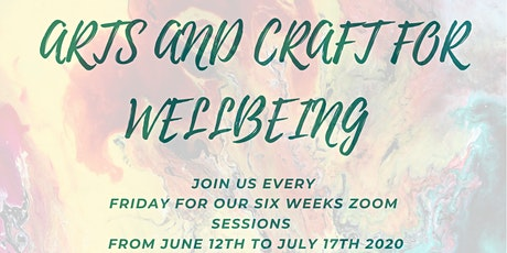 Arts and Crafts for Wellbeing tickets
