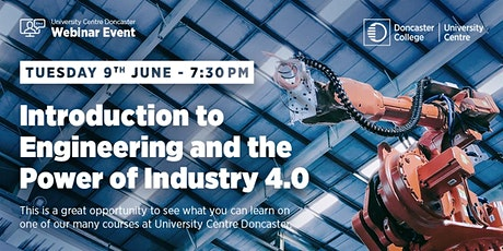 Introduction to Engineering and the Power of Industry 4.0 Tickets