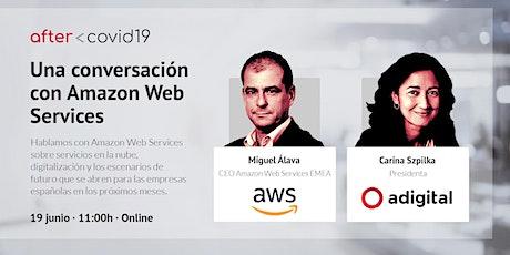 After COVID-19: Una conversación con Miguel Alava, AWS boletos