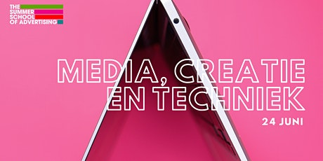 The Summer School  -  De ultieme driehoek: Creatie, Media, Techniek tickets