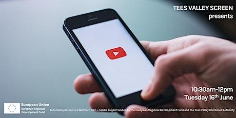 Tees Valley Screen presents TVS Professionals: Social Videos & Monetisation tickets