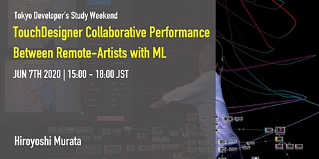 TouchDesigner Collaborative performance between remote artists with ML tickets