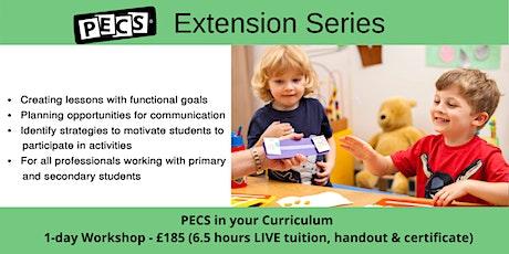 PECS in your Curriculum Online Workshop - June 17th 2020 tickets
